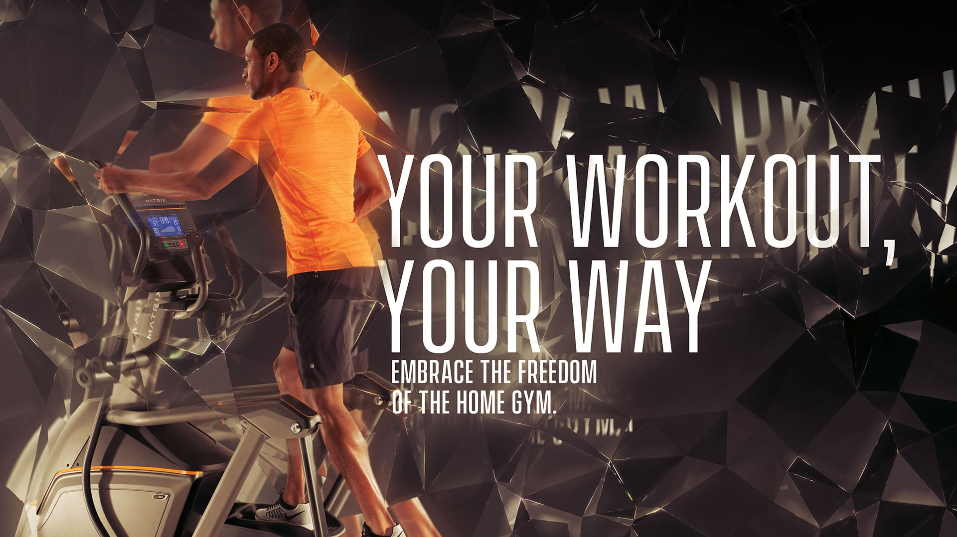 Your Workout, Your Way—embrace the freedom of the home gym.