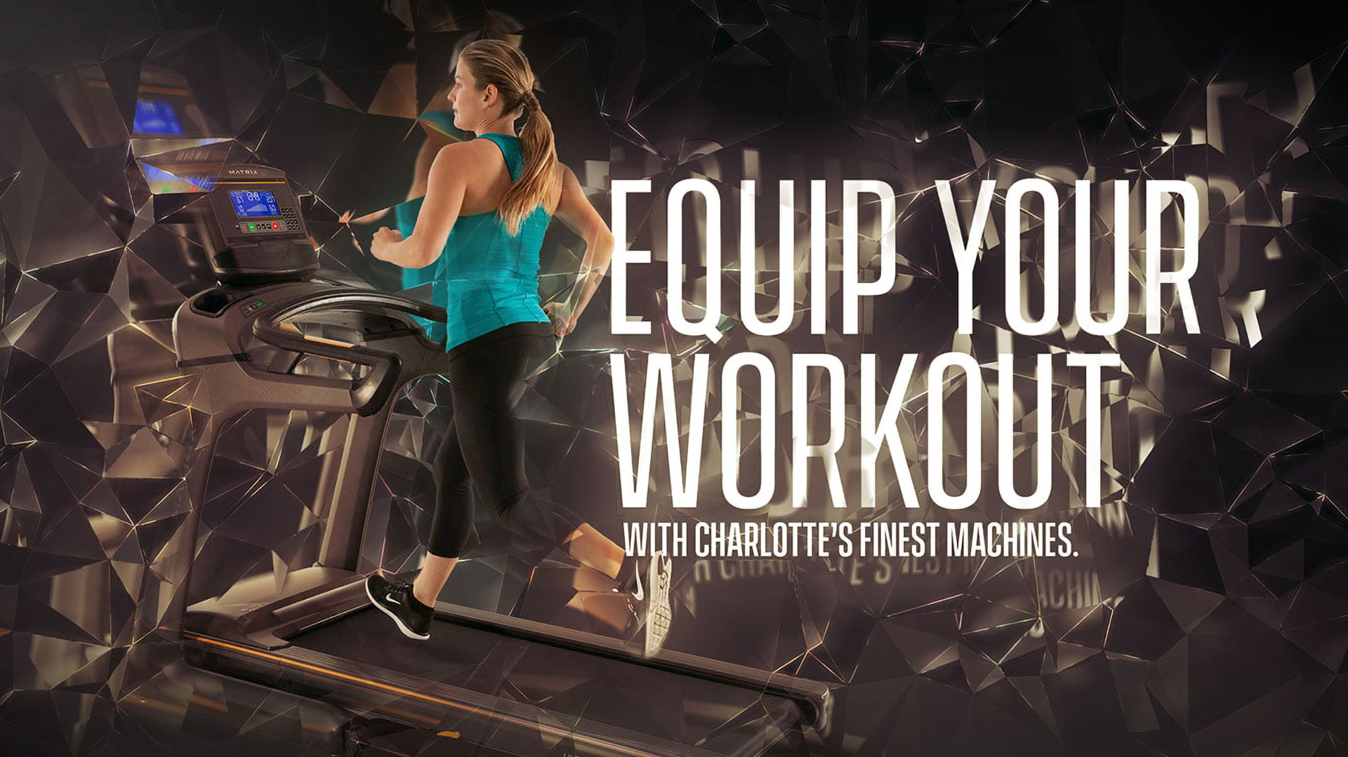 Equip your workout with Charlotte's finest fitness equipment machines.